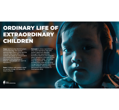 Ordinary life of extraordinary children
