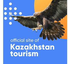 Design of the official website of Kazakhstan tourism