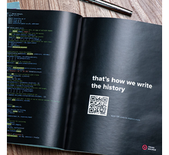 Image advertising of a software development company