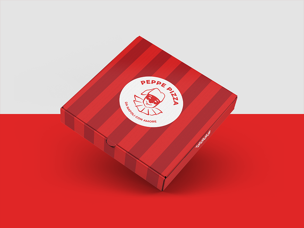 Peppe Pizza / Branding
