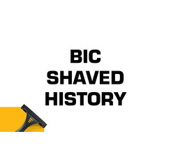 BIC shaved history