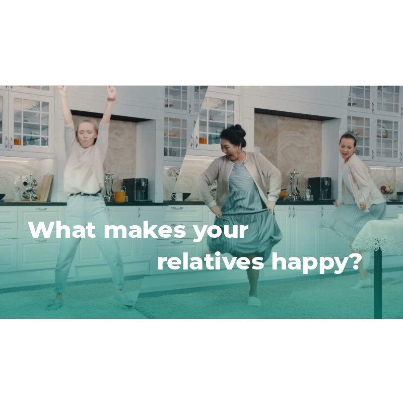 What makes your relatives happy?